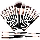 MAANGE-Brochas de Maquillaje Profesional 20 Piezas Set de Brochas para Maquillaje Natural Pinceles de Maquillaje Brochas Faci