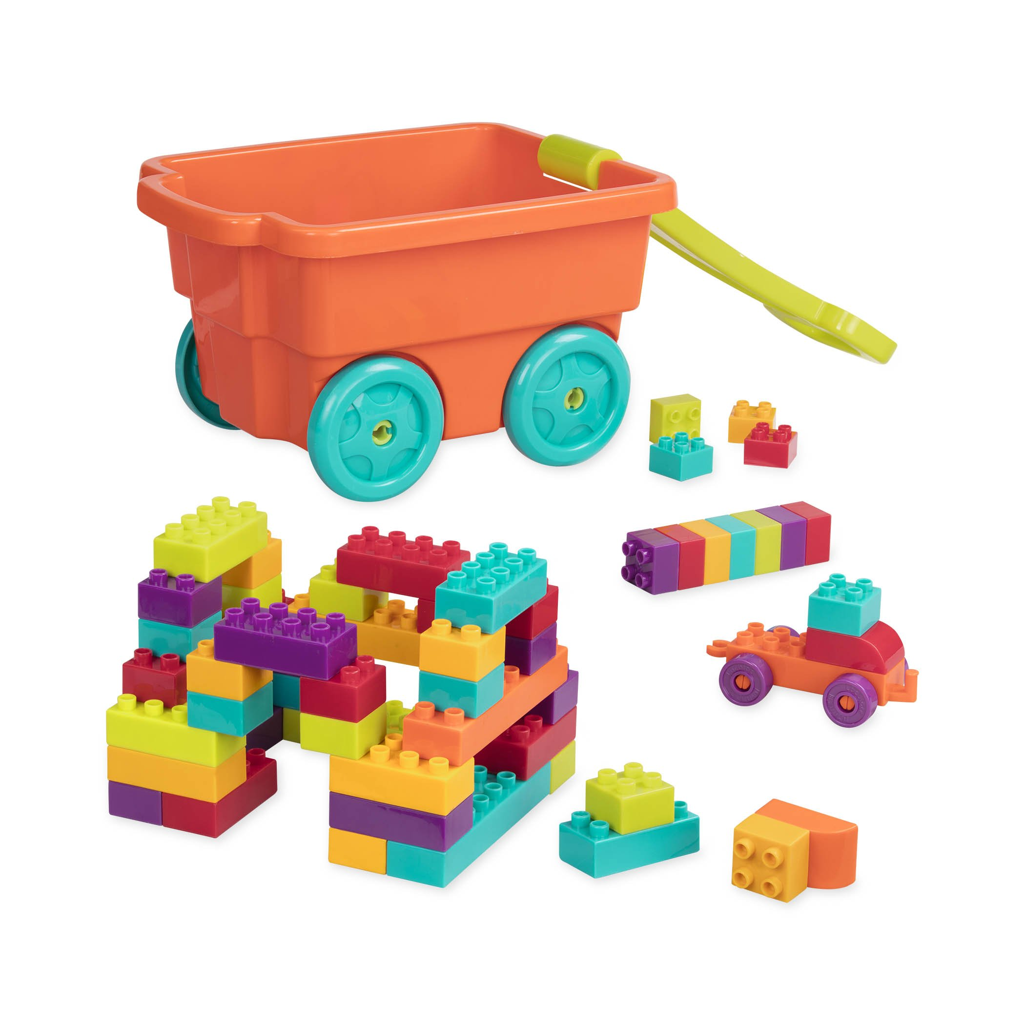 Amazon Battat Sort and Stack Learning Toy for Kids 19 pieces