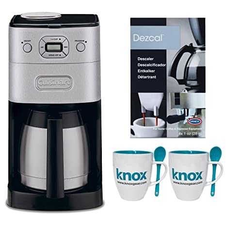 Amazon.com: Cuisinart dgb-650bc Grind & breww térmico 10-cup ...