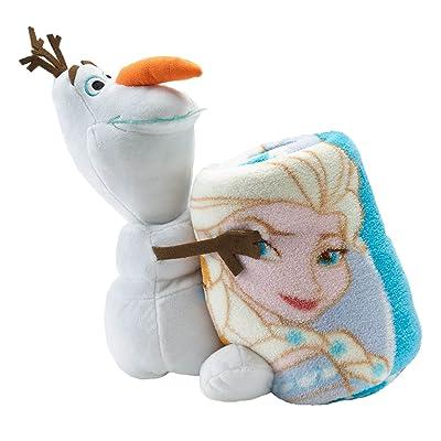 Disneys Frozen Olaf Hugger and Elsa Anna Throw Set: Home & Kitchen