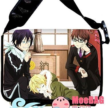 Siawasey Noragami Anime ARAGOTO Yato Yukine Cosplay Backpack Messenger Bag Shoulder Bag