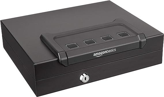 AmazonBasics - Caja fuerte de acceso rápido para arma de fuego: Amazon.es: Bricolaje y herramientas