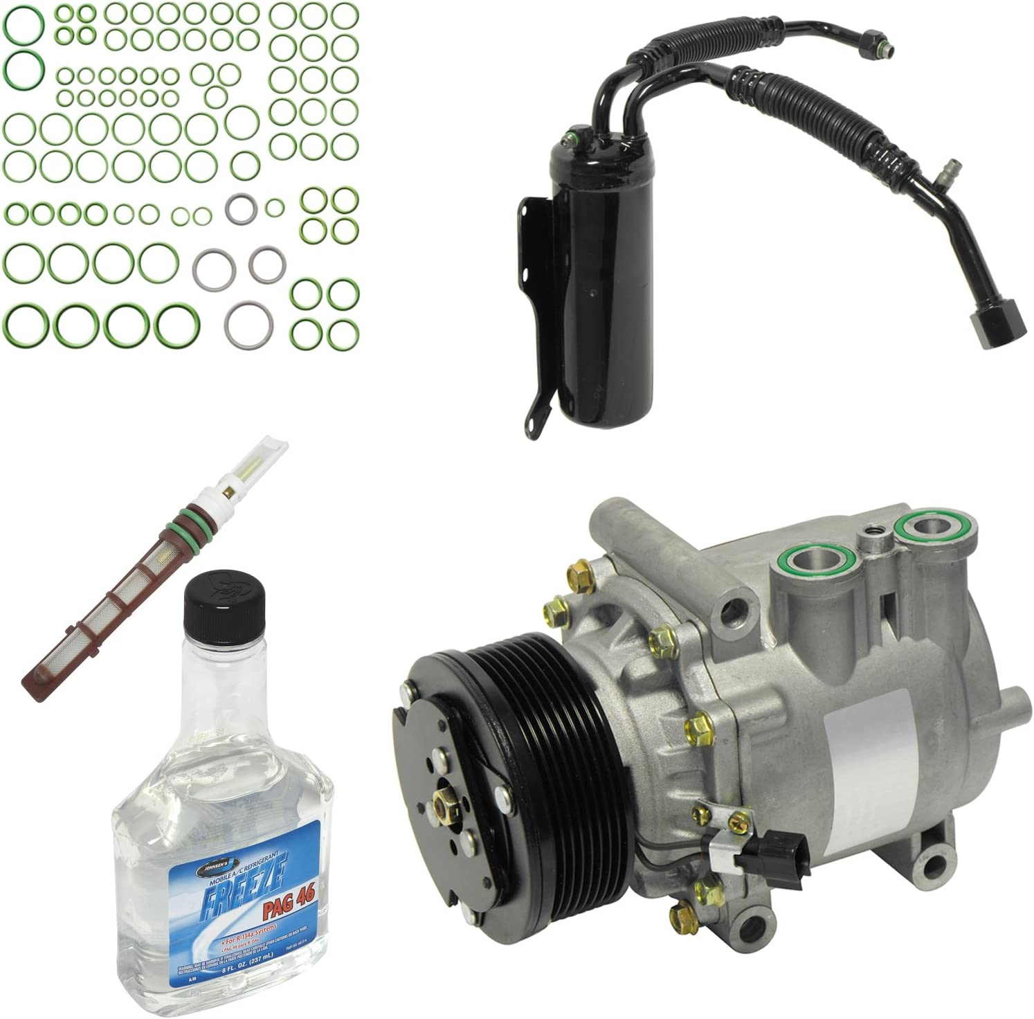 Universal Air Conditioner KT 1707 A//C Compressor and Component Kit