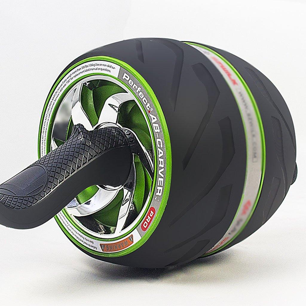 Abdominal Rad Mute Rebound Riesenrad Fitnessgeräte dünne Taille Bauch (Farbe    2)
