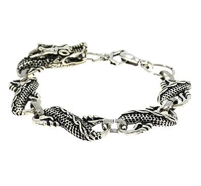 Indian Fashion Dragon Link Bracelet Traditional And Ethnic Oxidised