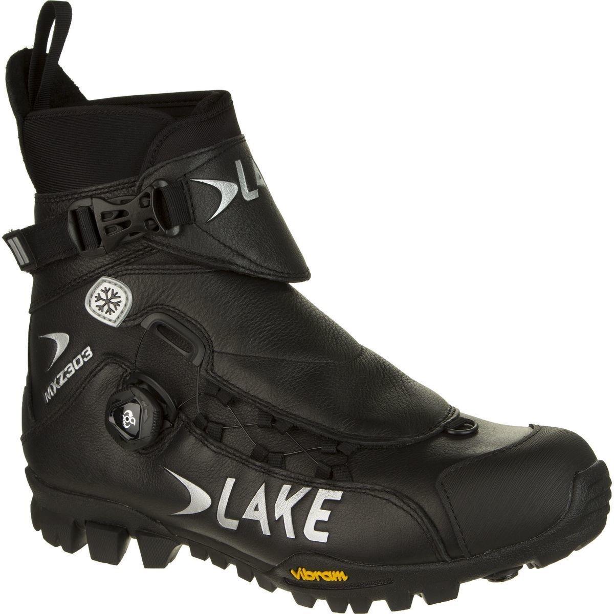 LAKE CYCLING MXZ303-X Wide, Color: Black, Size: 45 (3011973) by Lake Cycling
