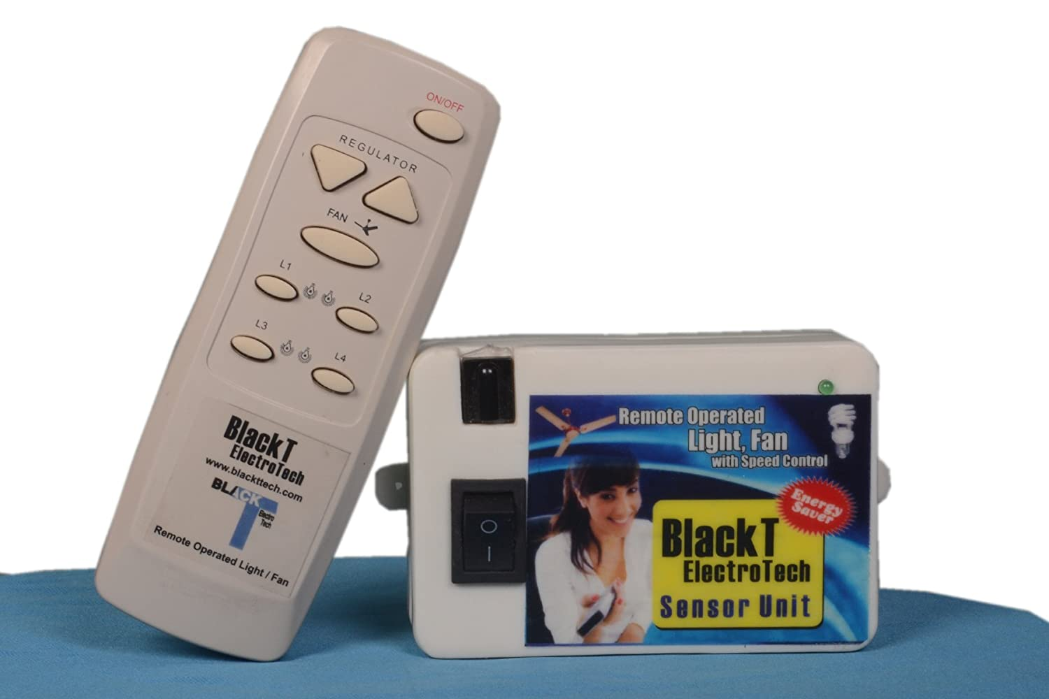 Buy Blackt Electrotech Wireless Remote Control Switch For Light Fan Circuit Multiple Appliances Homemade Home Automation Online At Low Prices In India