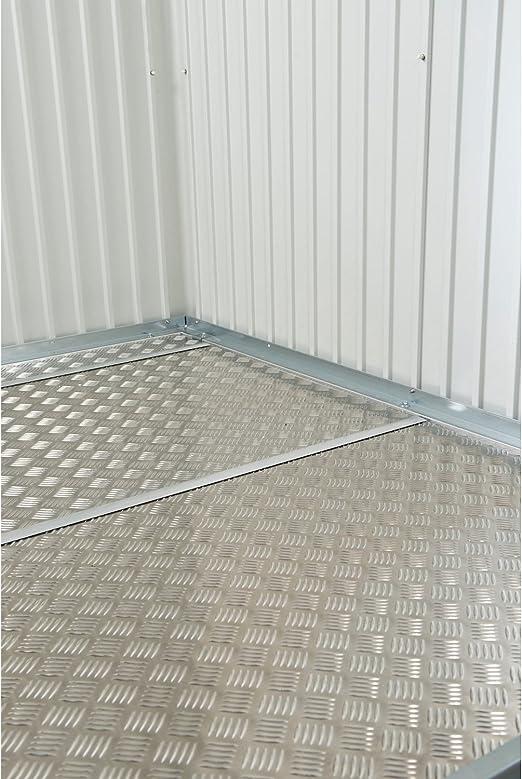Placa de suelo aluminio para Biohort – Armario 90: Amazon.es: Jardín