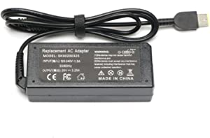 65W&45W AC Adapter Laptop Charger for Le-novo Yoga 13 Yoga 11S Yoga 2 Z505 Z580 L-enovo Thinkpad T430 T440 T440S T440P T450 T460 T460S Ideapad Z50-70 Z40-70 Z50-75 Z70-80 G50-30 Power Supply Cord