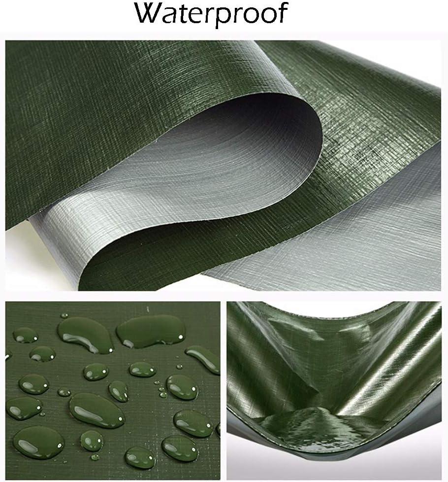 Lona Impermeabilizante Resistente al Agua w/Grommets Lona Piscina Techo Pérgola Auto Cubierta Verde/Astilla, 190 g (Tamaño : 2M×2M): Amazon.es: Hogar