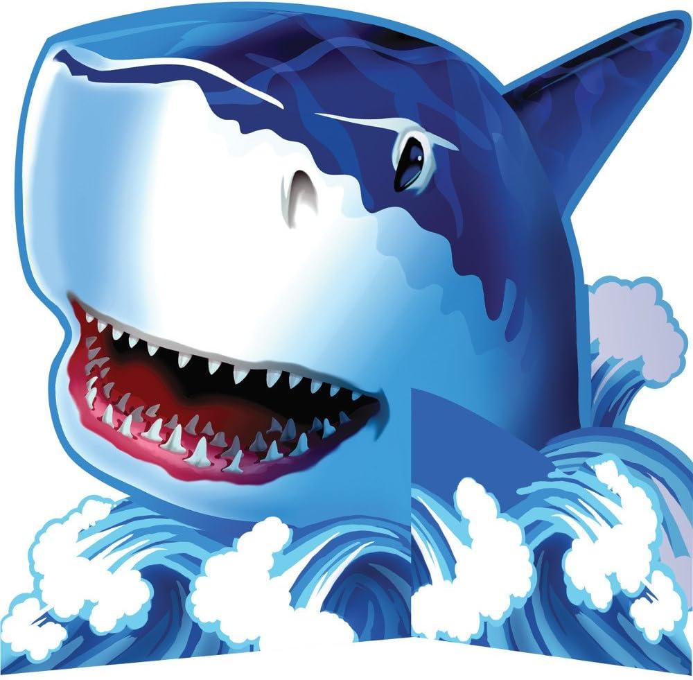 Creative Converting Shark Splash Diecut Centerpiece Party Decoration