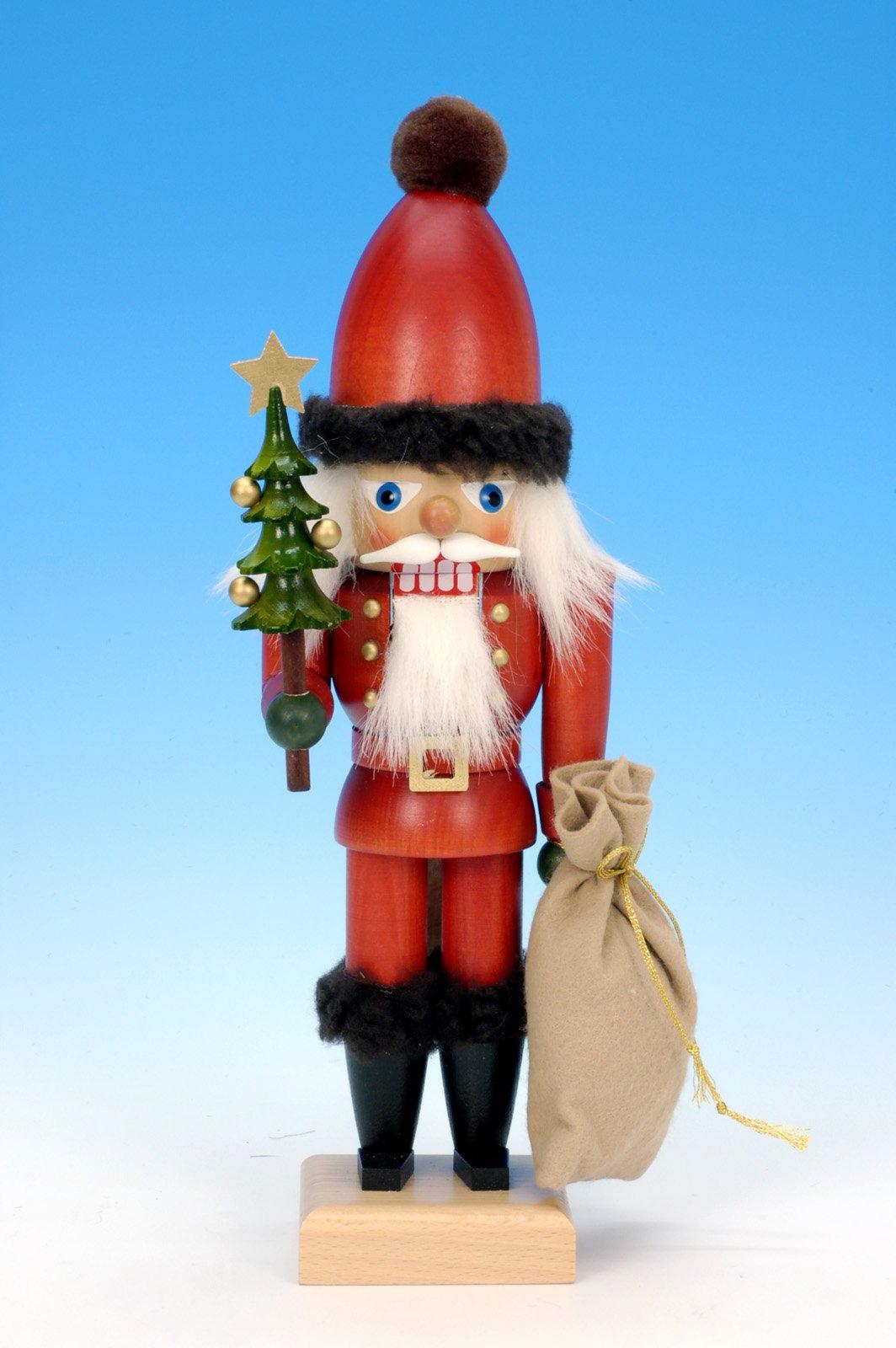 German Christmas Nutcracker Santa Claus - 30,0 cm / 12 inches - Authentic German Erzgebirge Nutcrackers - Christian Ulbricht