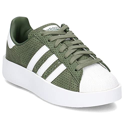 ADIDAS Sneaker stringata Superstar Donna Taglia IT 40 bianco Pelle