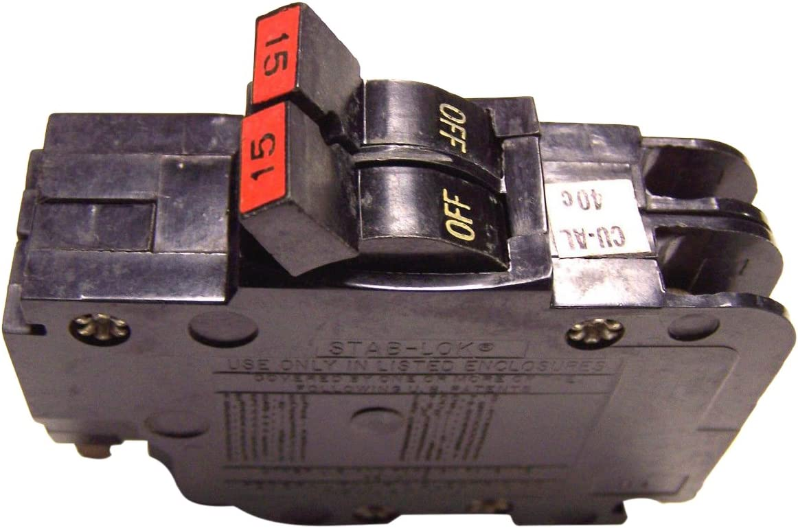 Thick FPE 15 AMP 1 POLE STAB-LOK   NA FEDERAL PACIFIC ELECTRIC