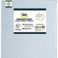 Serta Perfect Start Fiber Core Standard Crib and Toddler Mattress | Waterproof | Lightweight | GREENGUARD Gold Certified…