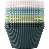 The Silicone Kitchen Reusable Silicone JUMBO Baking Cups | Non-Toxic | BPA Free | Dishwasher Safe