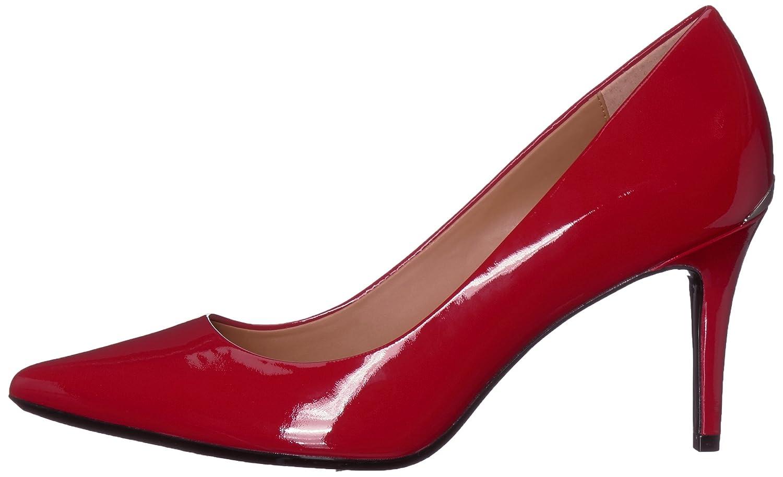 Calvin Klein Women's B(M) Gayle Pump B075TQFGDC 5 B(M) Women's US|Crimson Red c4a13a