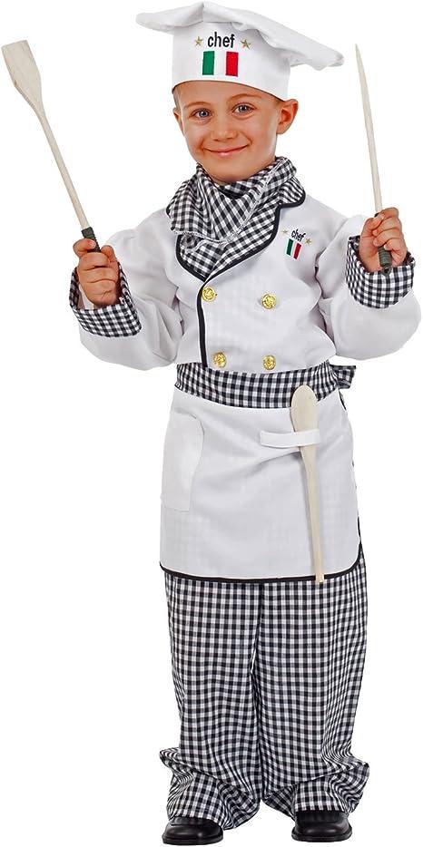 Unbekannt Chef de Vestuario Infantil Adriano White Chef de Cuadros ...