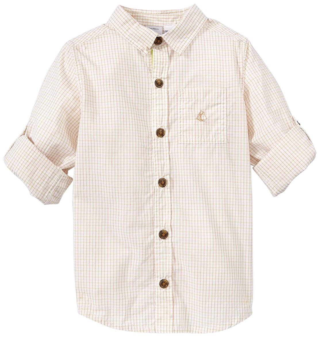 Petit Bateau Button Down Shirt Toddler Kids Multicolor-4 Years