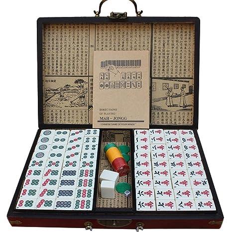 Feeyond Mahjong, Chino Mahjong Conjunto De Lujo Chino Mahjong ...