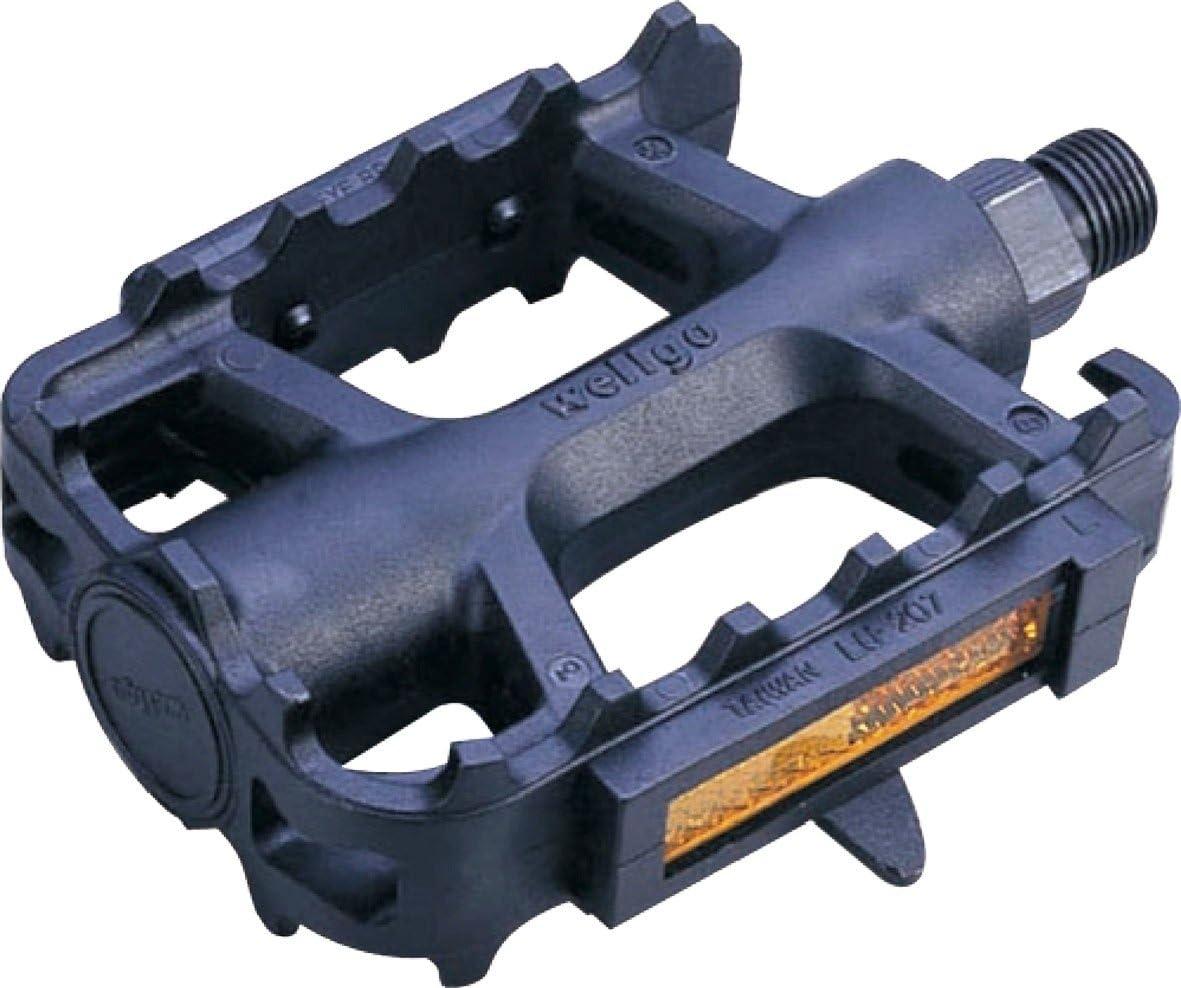 ETC - Pedales para Bicicletas de montaña (Resina), Color Negro ...