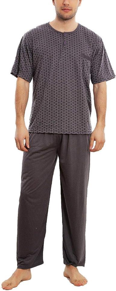 Toocool - Pijama para hombre de tres piezas, de algodón ...