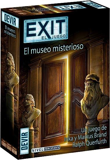 Devir- Exit 10, El Museo Misterioso (BGEXIT10): Amazon.es: Juguetes y juegos