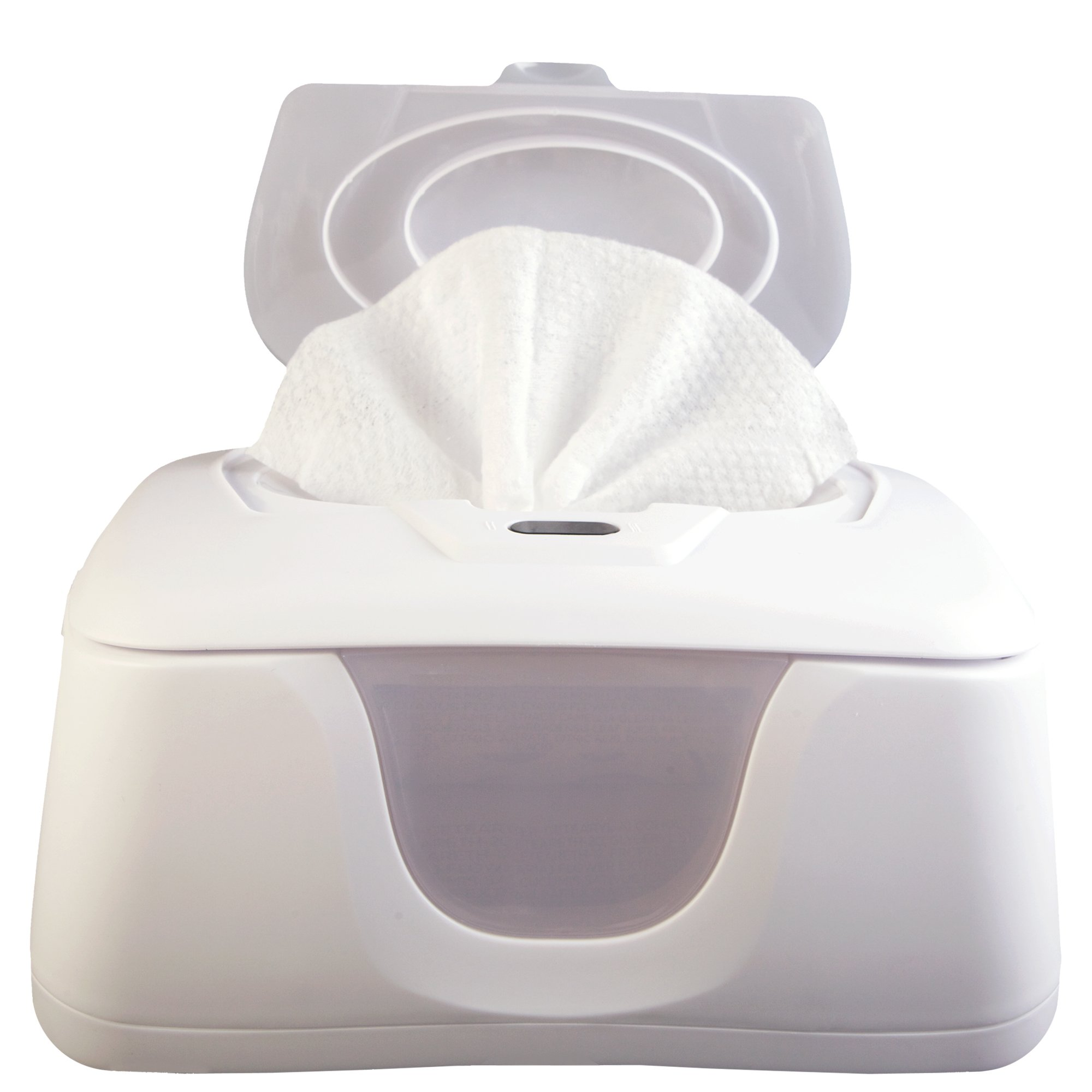 Baby Wipes Warmer and Dispenser, Advanced Features with 4 Bright Auto Off LED Ample Lights for Easy Nighttime Changes, Dual Heat for Baby's Comfort, Improved Design and Only Available at Amazon by GO GO PURE