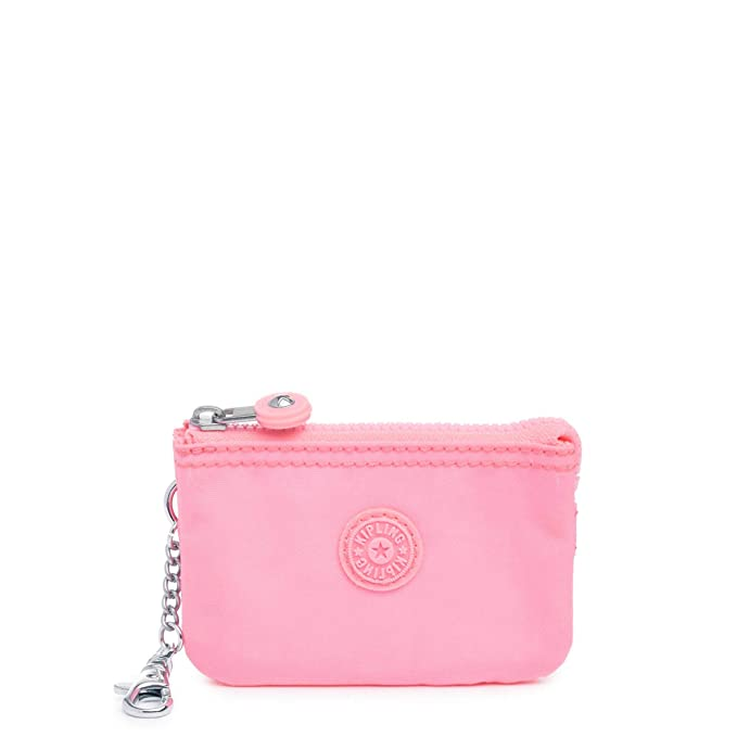 Kipling Mini Creativity Key Chain, Zip Closure, Lobster Clasp