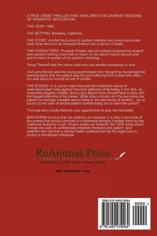 Bad Karma: Deborah Blum: 9781490479064: Amazon com: Books