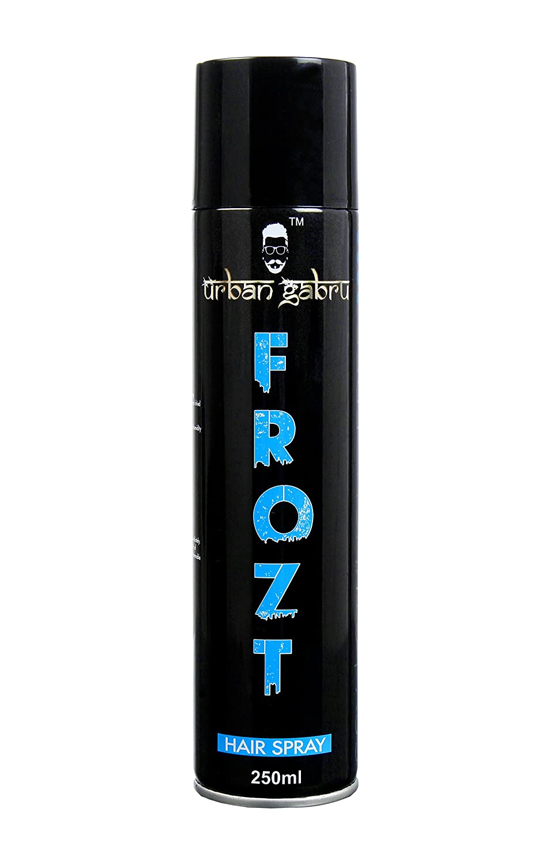 UrbanGabru Frozt Extreme Hold Hair Spray For Women And Men, 250 ml