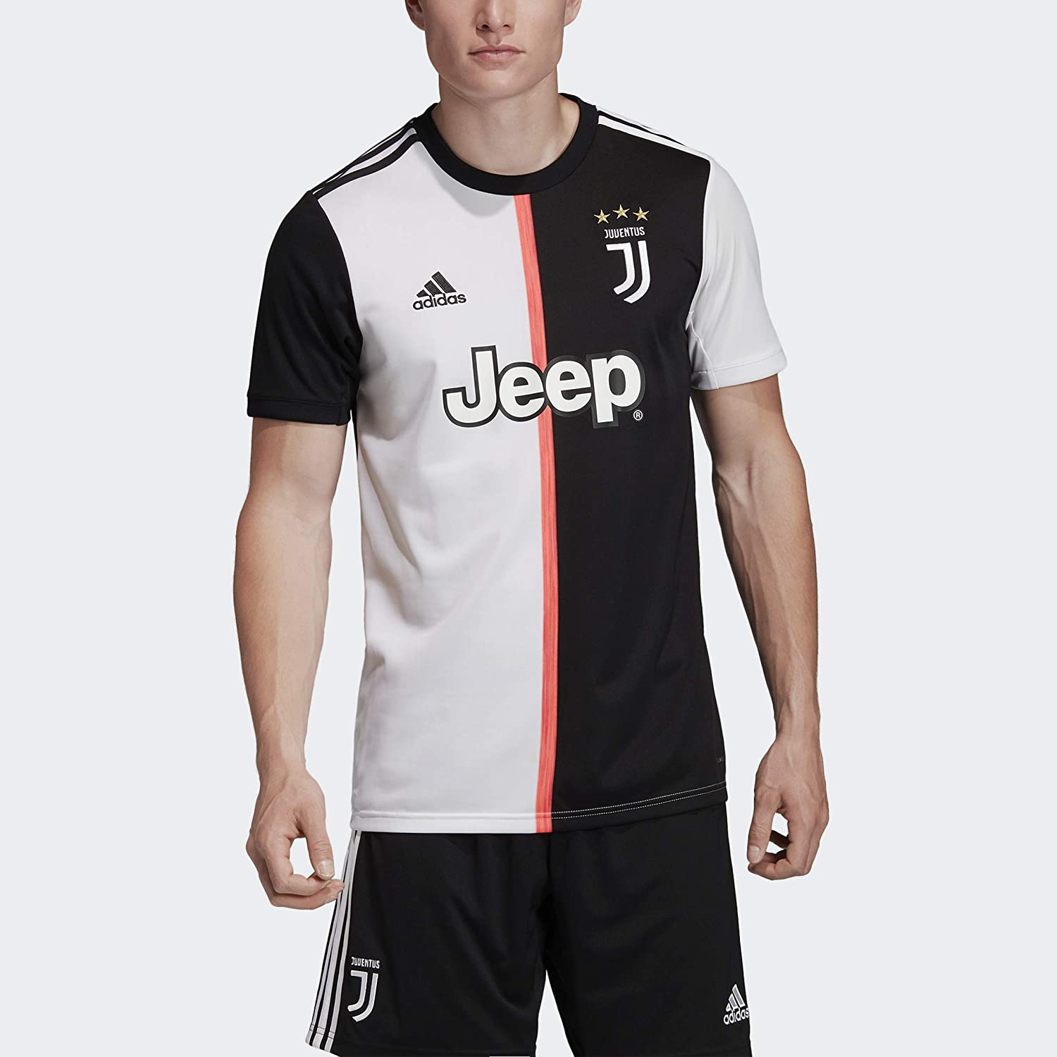 amazon com adidas juventus adult home replica jersey dw5455 clothing adidas juventus adult home replica