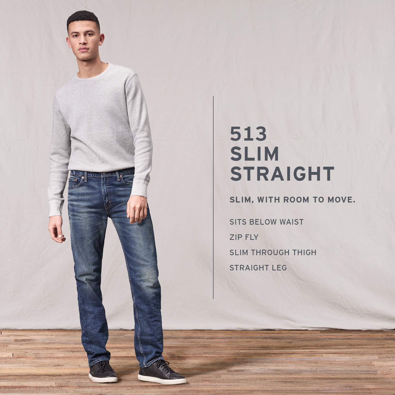 5595f62c9ba Levi's Men's 513 Slim Straight Jean at Amazon Men's Clothing store: