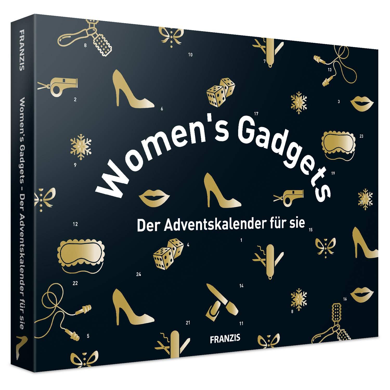 FRANZIS Womens Gadgets: Der Adventskalender f/ür Sie die den Alltag erleichtern Ab 14 Jahren Jeder Tag eine kleine /Überraschung 24 T/ürchen