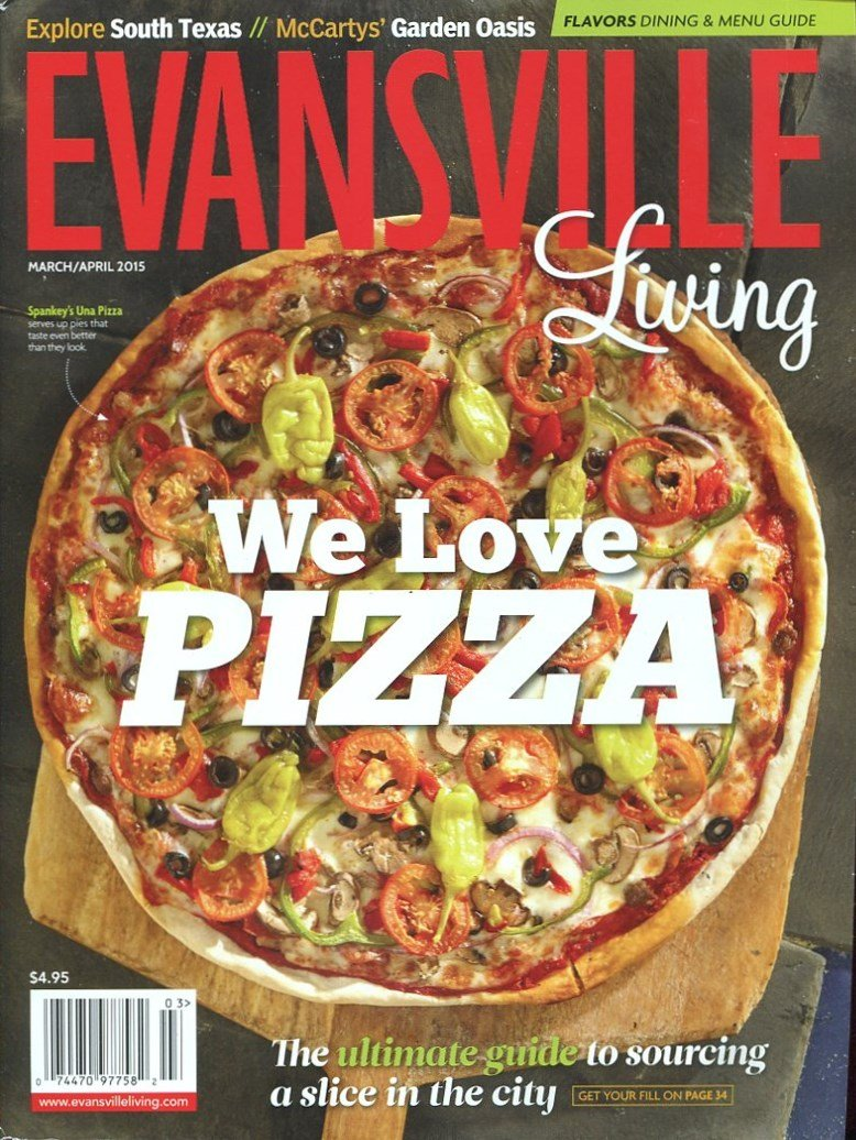 EVANSVILLE LIVING MARCH-APRIL 2015 /INDIANA /TRAVEL INFORMATION /LOCAL INFORMATION++++++ PDF