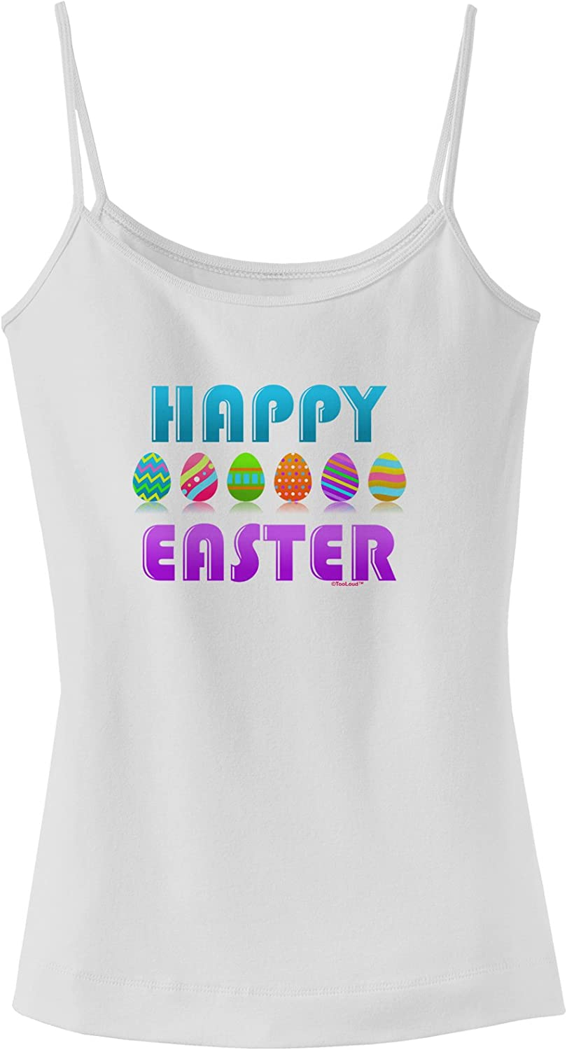 TooLoud Happy Easter Easter Eggs Infant T-Shirt Dark