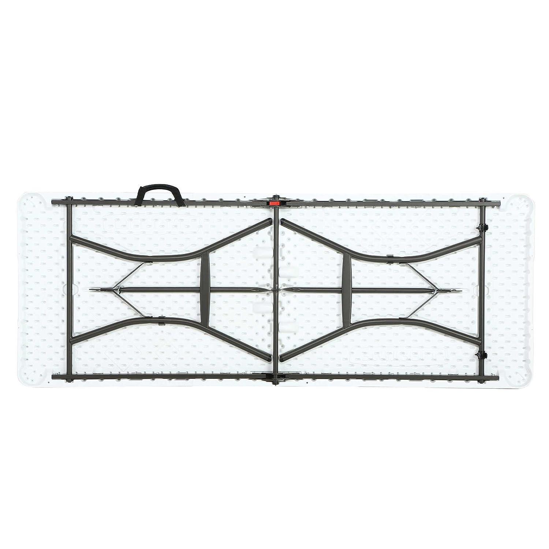 183/x 70/x 74/cm Lifetime plastique table pliante table de camping Premium march/é aux puces////Dimensions