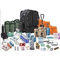 TSK Medical Ltd DREI Person - Überlebensrucksack - Viking 60L- Notgepäck Fluchtrucksack (schwarz