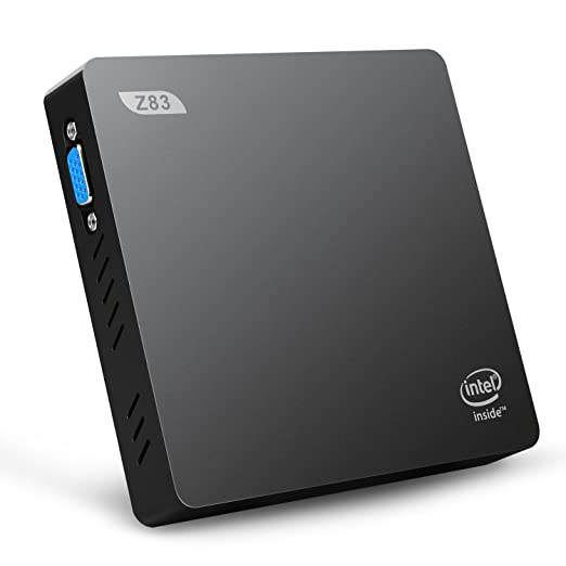 25 opinioni per Bqeel- Z83-V Mini PC Windows 10 Home, Intel Atom x5-Z8350, Intel HD Graphics,