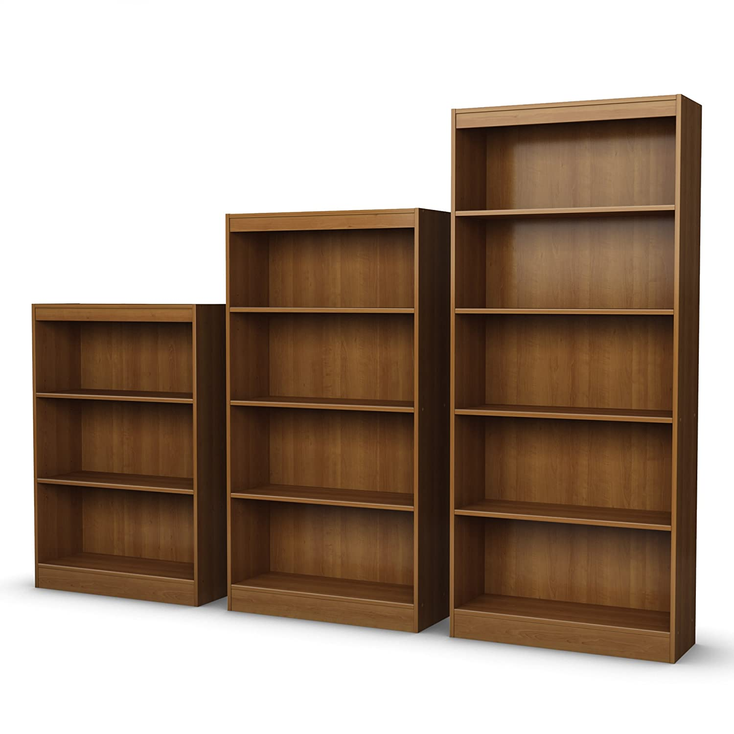 free garden cherry overstock oakdale wood today double shipping bookcase product home