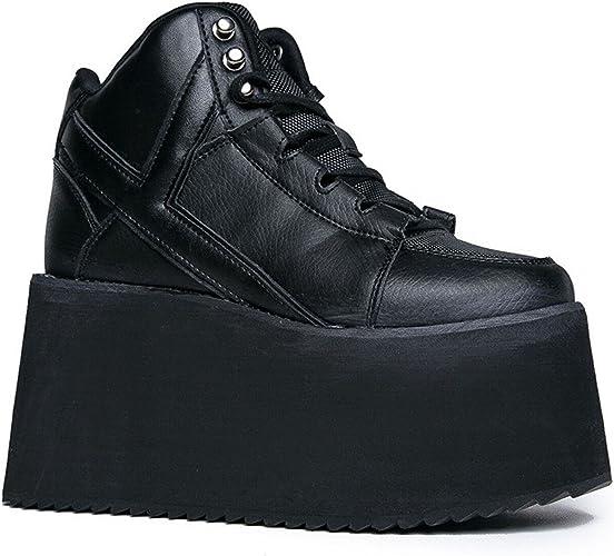 YRU 'Qozmo Hi 2' Platform, Black, 10