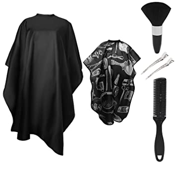 Salon Cutting Barber Hair Cutting Gown Cape Hairdresser Apron Hairdressing SU
