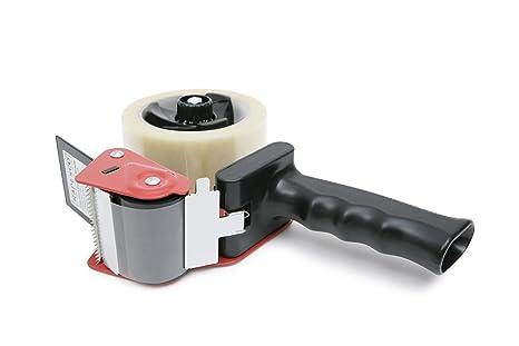 Rapesco Accesorios - Porta cinta de embalar para fácil utilización en trabajos de empaquetado, mango