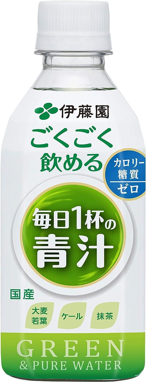 伊藤園 ごくごく飲める 毎日1杯の青汁 350g×24本