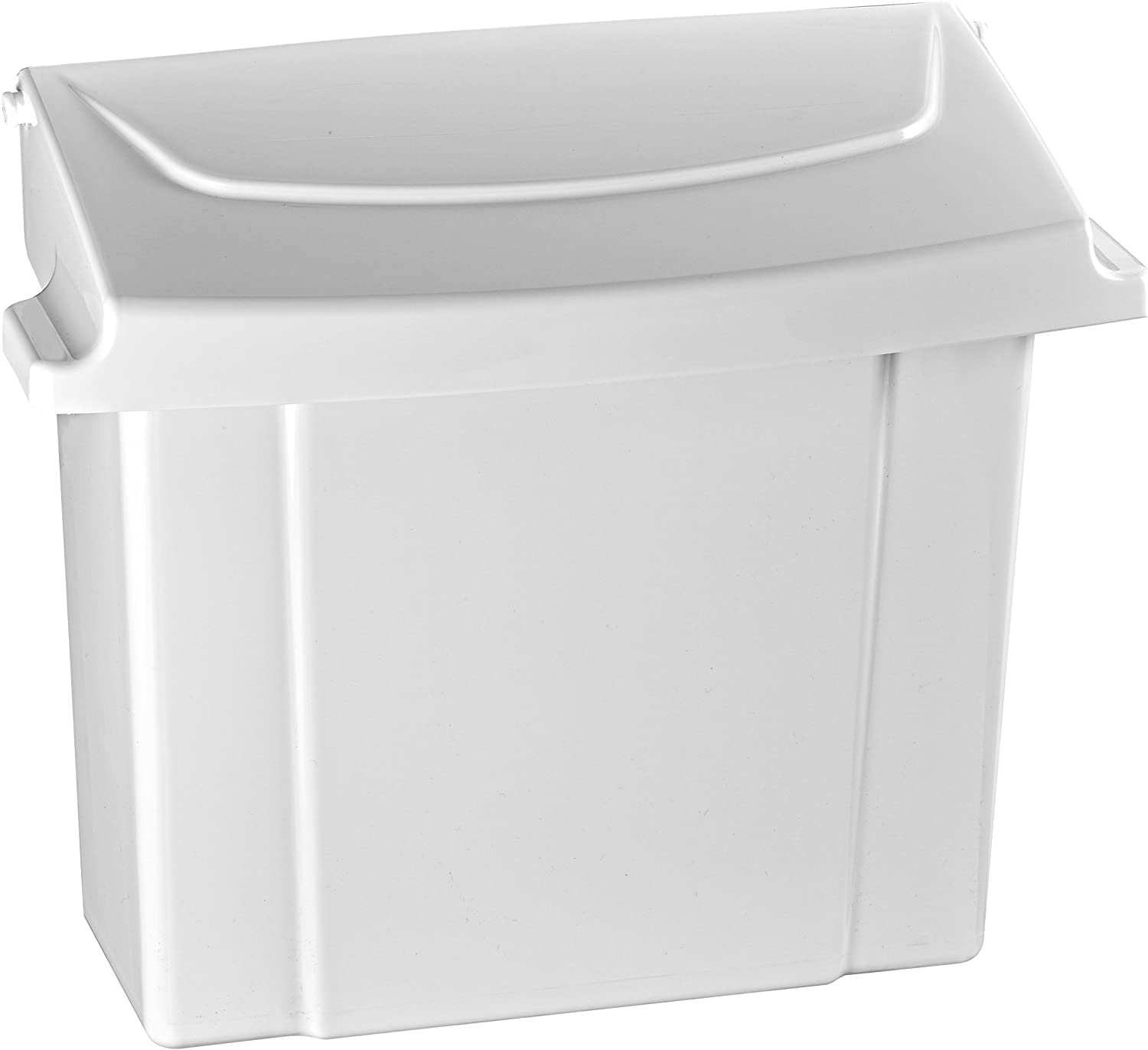 Alpine Sanitary Napkins Receptacle Feminine Hygiene Products Tampon Waste Disposal Container Durable Abs Plastic Seals Tightly Traps Odors Easy Installation Hardware Included White Amazon Ca Health Personal Care