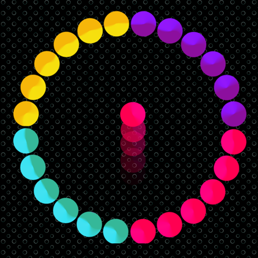 Dot Up Climb Stay Off The Circle Color Wave Switch - Color Circle
