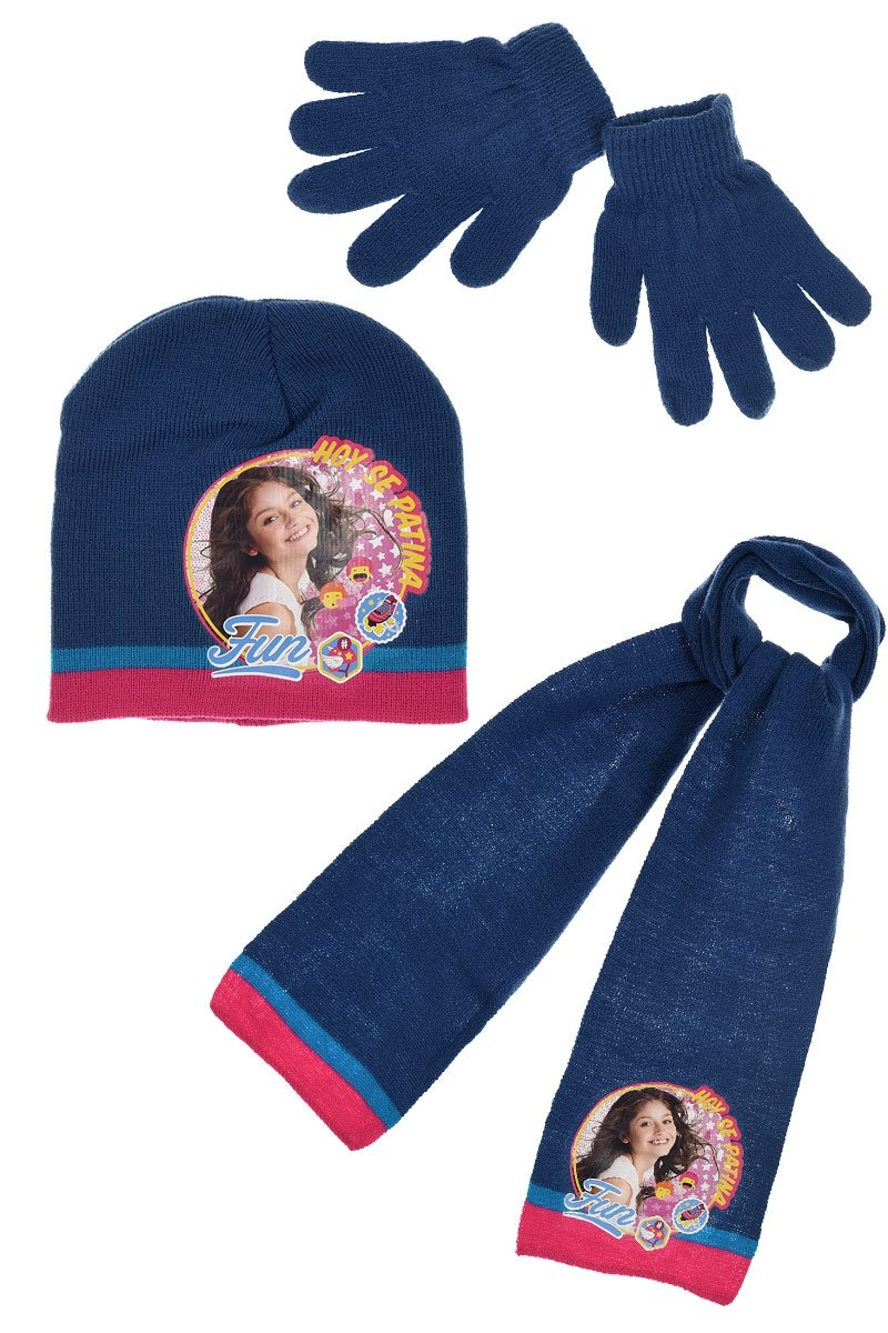 Soy Luna Scarf Cap And Gloves Set