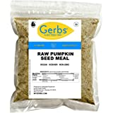 GERBS Ground Pumpkin Seed Meal, 16 ounce Bag, Top 14 Food Allergy Free, Non GMO, Vegan, Keto, Paleo Friendly