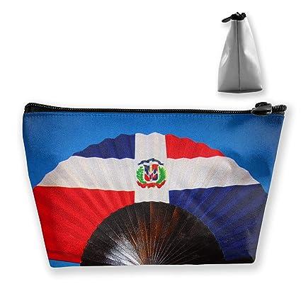 cc6cd7d29e92 Amazon.com: RobotDayUpUP Dominican Republic Flag Fan Womens Travel ...