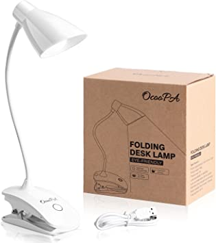 Portable 4 LED Table Desk Lamp Bedside Reading Light book light LED Light FU